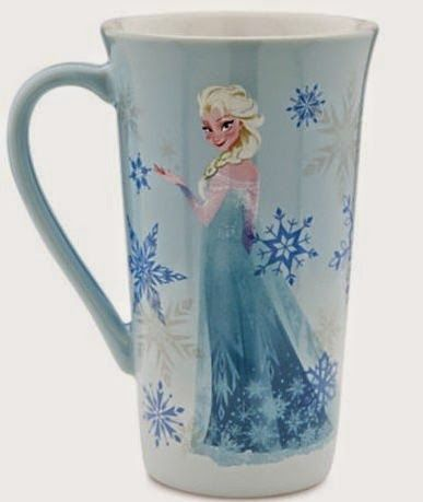 31 DAYS OF COFFEE MUGS: Disney Store Frozen Coffee Mugs