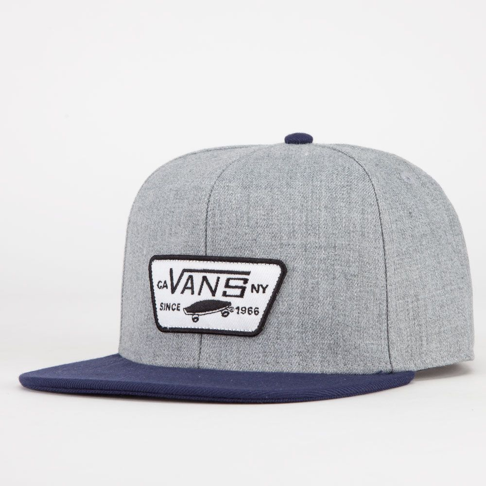 f94c864de82 VANS Full Patch Mens Snapback Hat