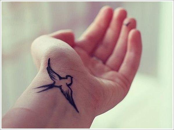 75 Sweet And Meaningful Swallow Tattoos Tattoos Tattoos Wrist