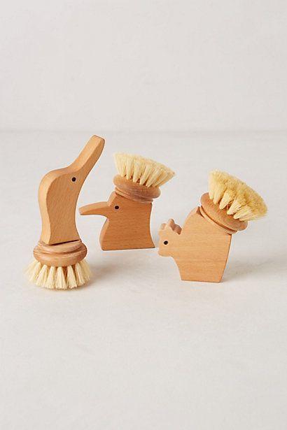 (Handcarved Scrub Brush - anthropologie.com)