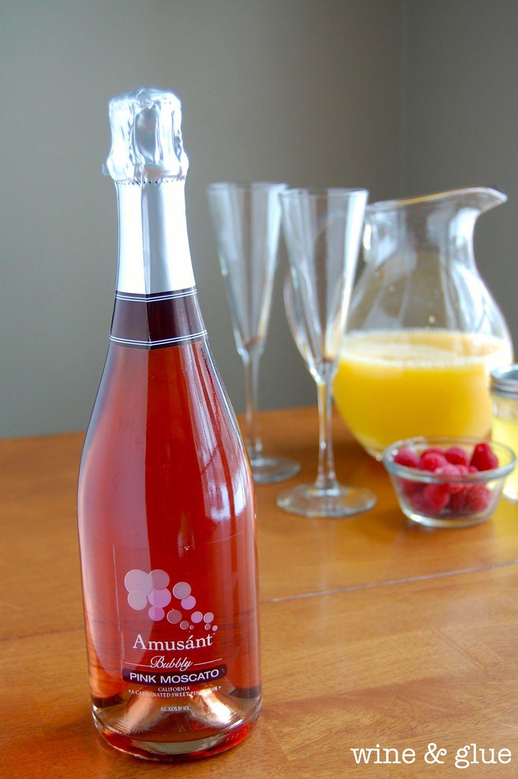 Sunrise Mimosa Wine Glue Sparkling Wine Cocktails Wine Glue Moscato Wine