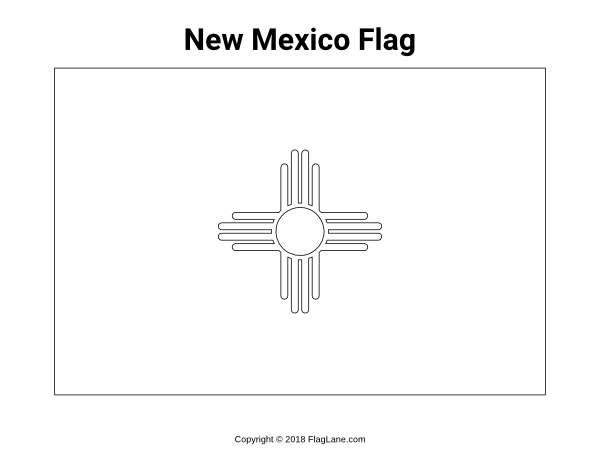 Free Printable New Mexico Flag Coloring Page Download It At Https Flaglane Com Coloring Page New Mexico F New Mexico Flag Flag Coloring Pages Coloring Pages