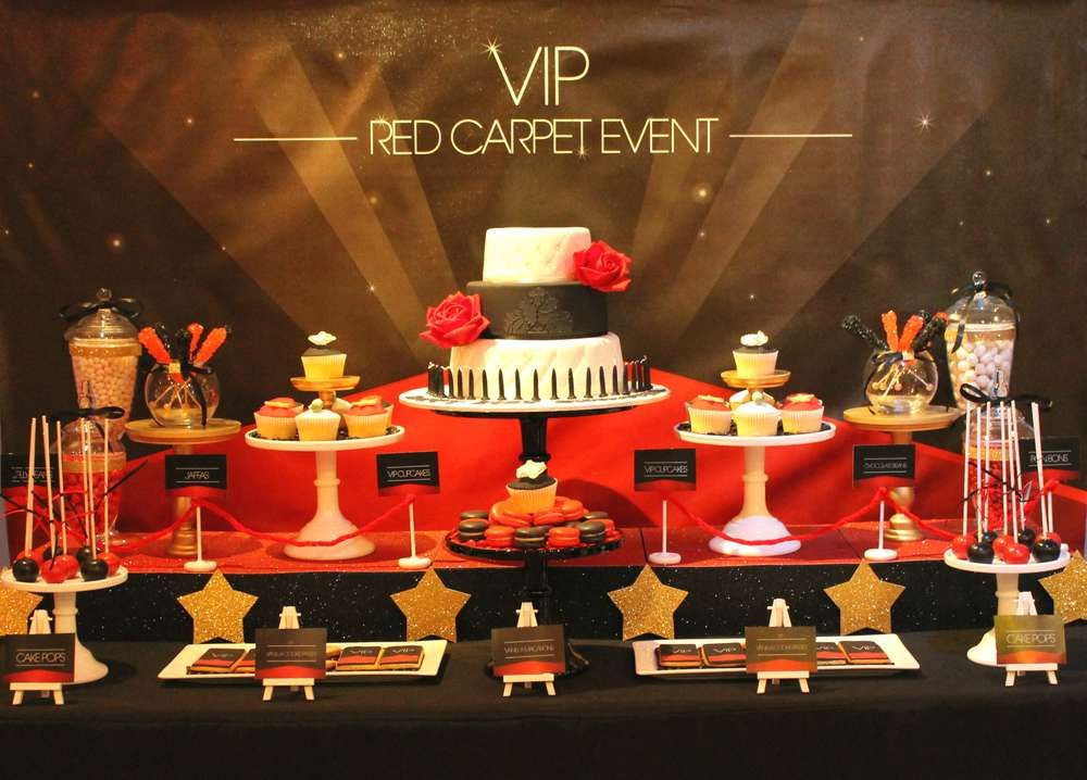 Vip Red Carpet Event Birthday Party Ideas Hollywood Red