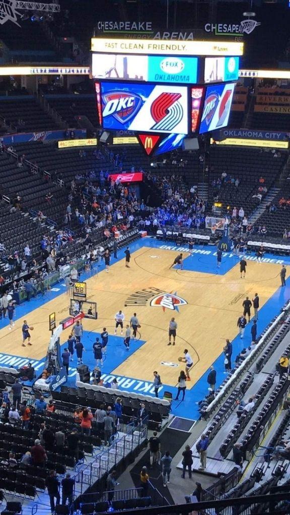 Photos At Chesapeake Energy Arena Within The Most Brilliant Oklahoma City Thunder Seating Chart Oklahomacitythunderarenaseatingchart Oklahomacitythu Olahraga