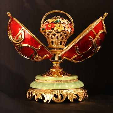 Russian Faberge egg easter