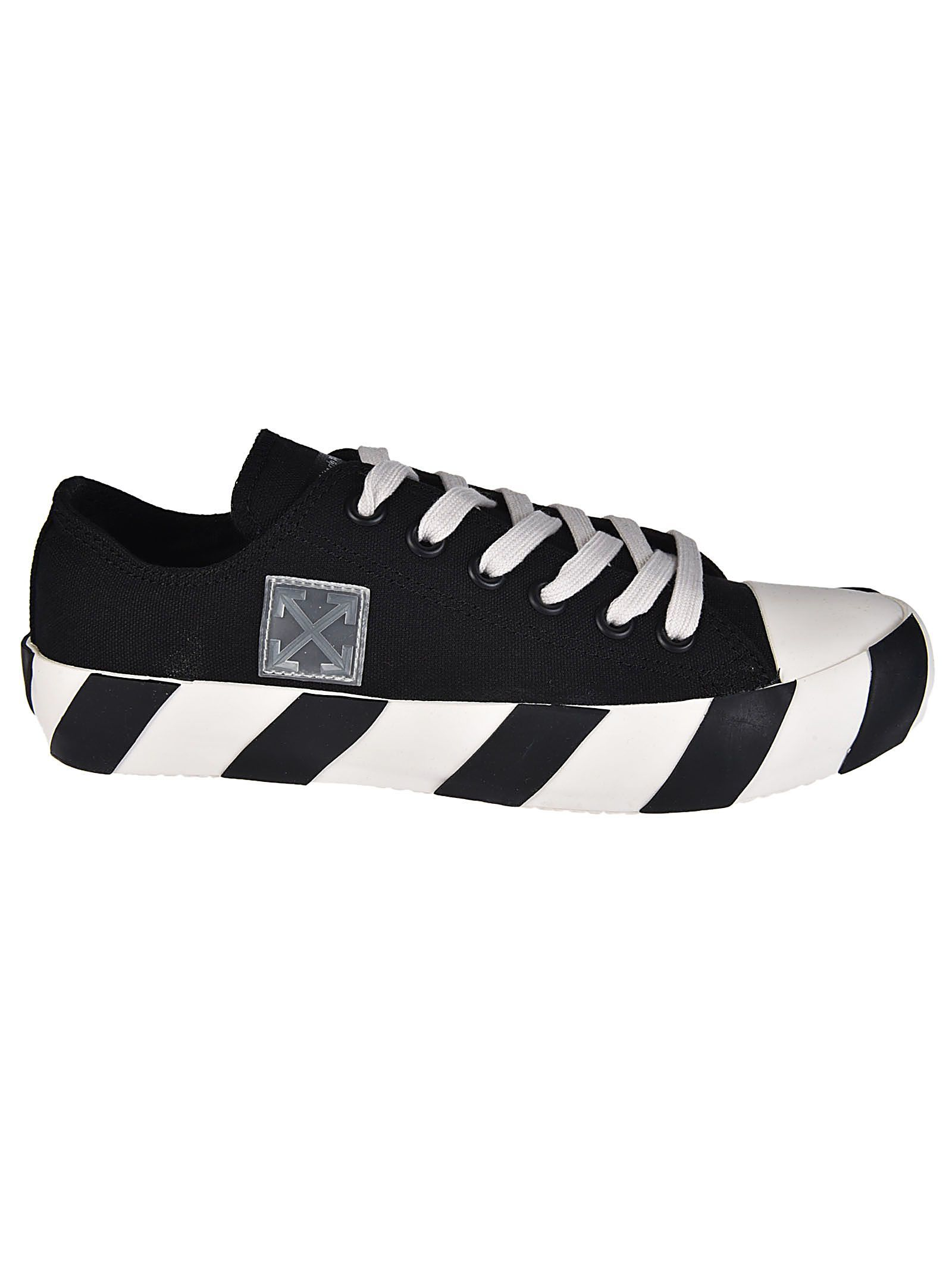 OFF-WHITE OFF-WHITE STRIPED SOLE TENNIS SNEAKERS.  off-white  shoes ... 54c91b2bf16f