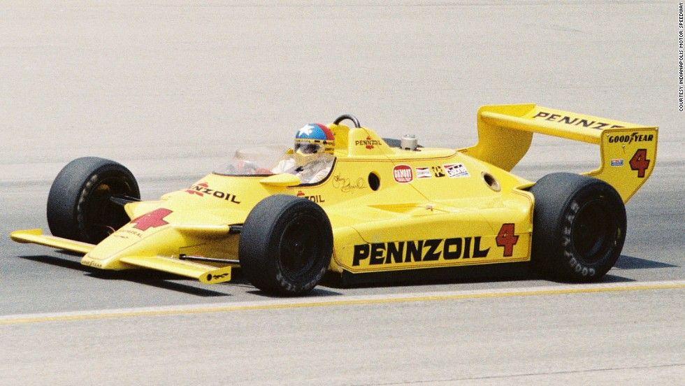 1980 indy winner johnny rutherford indy car racing