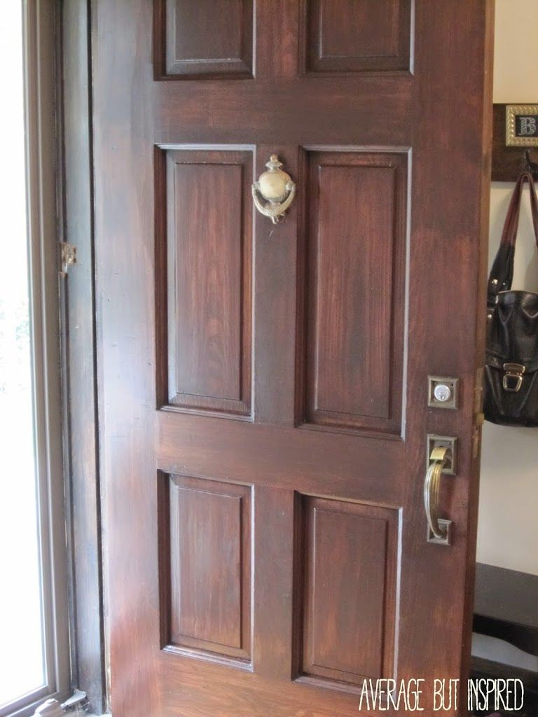 How To Refinish An Exterior Door The Easy Way Organize