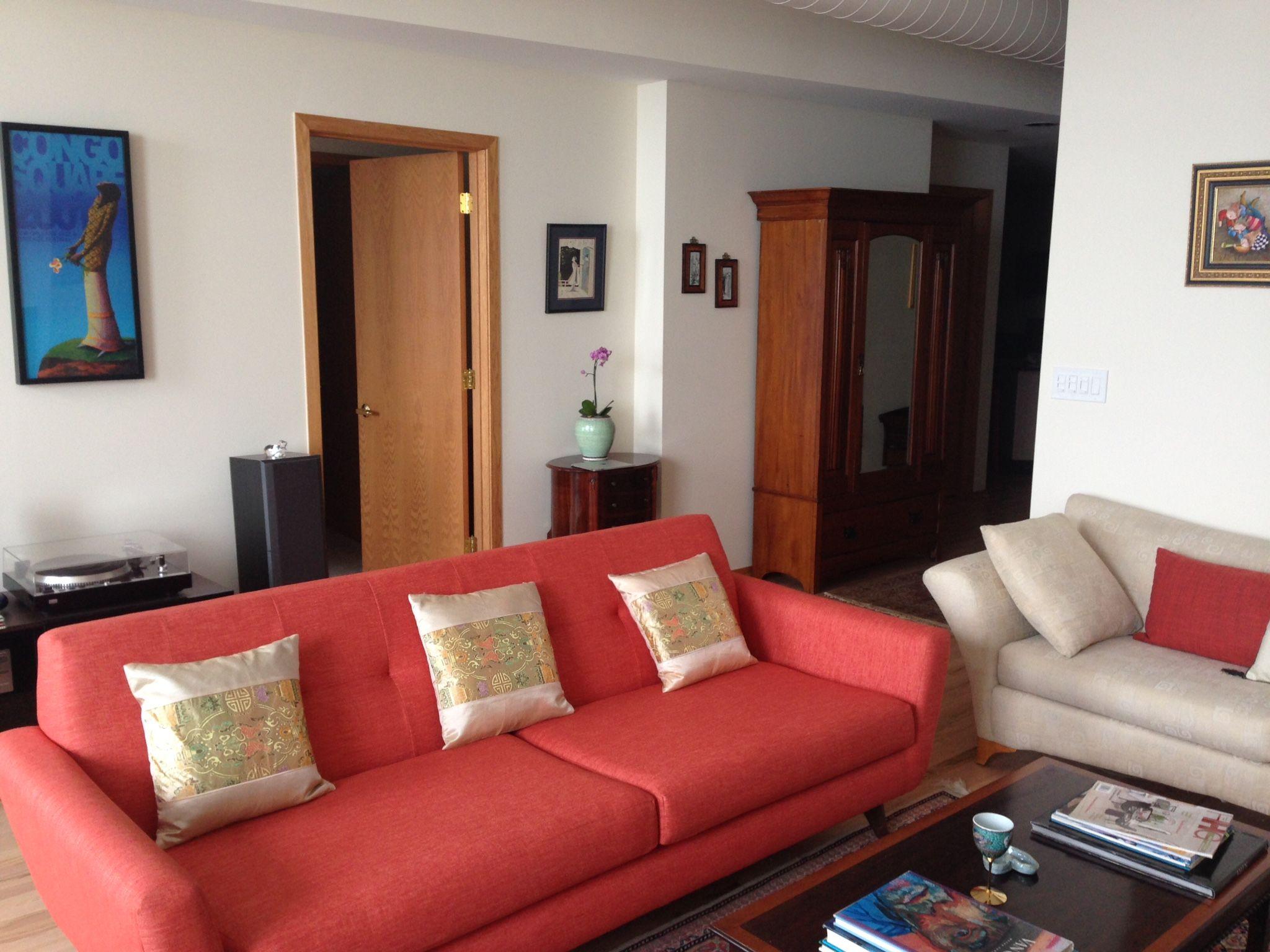 Salvatore Modern Victorian Turquoise Premium Velvet Fabric Sofa