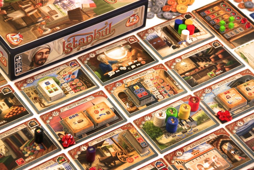 Istanbul Board games, Games, Game reviews