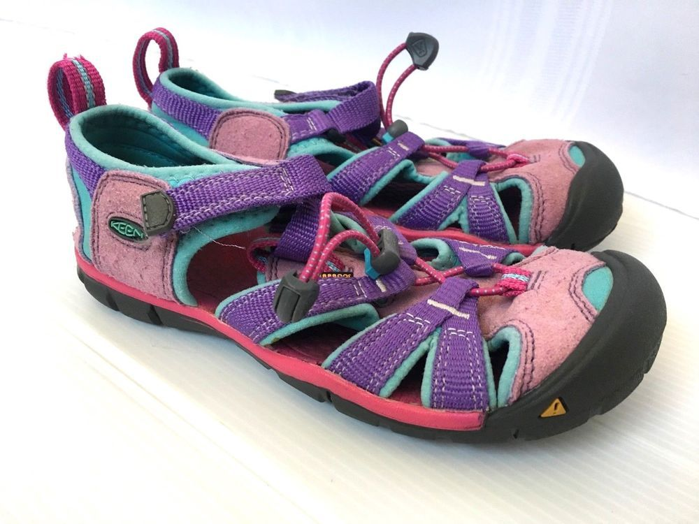 KEEN Girl s size 13 Kids Sandal Walk Sport Hike Shoes Pink  KEEN  Sandals