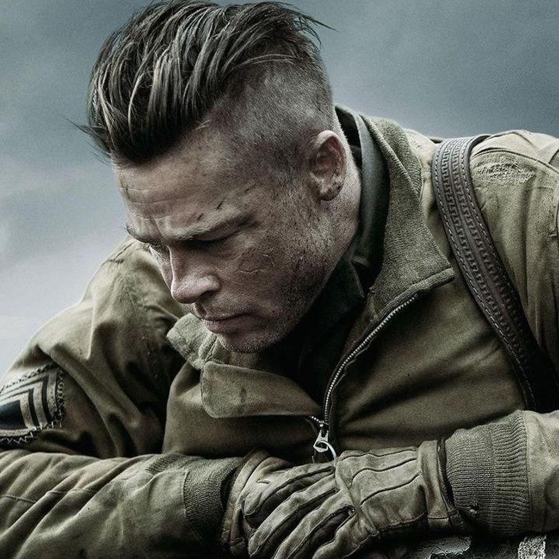 18+ Fury brad pitt haircut info