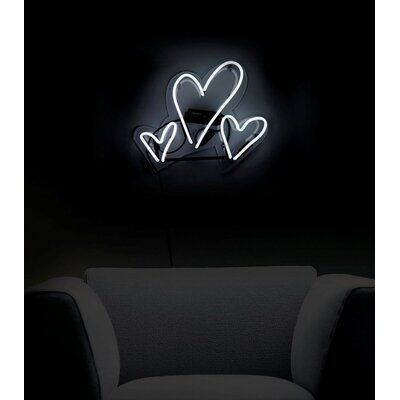 Oliver Gal Hearts Neon Themed Sign | Wayfair.ca#gal #hearts #neon #oliver #sign #themed #wayfairca