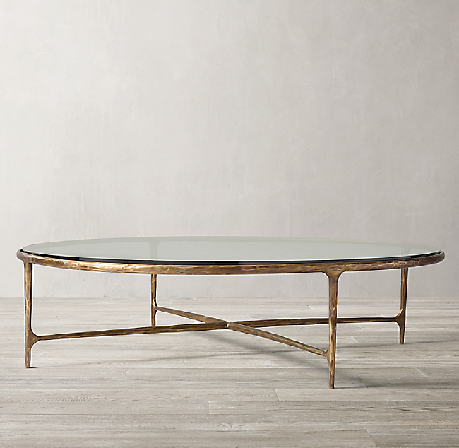 25+ Brass And Glass Coffee Table PNG