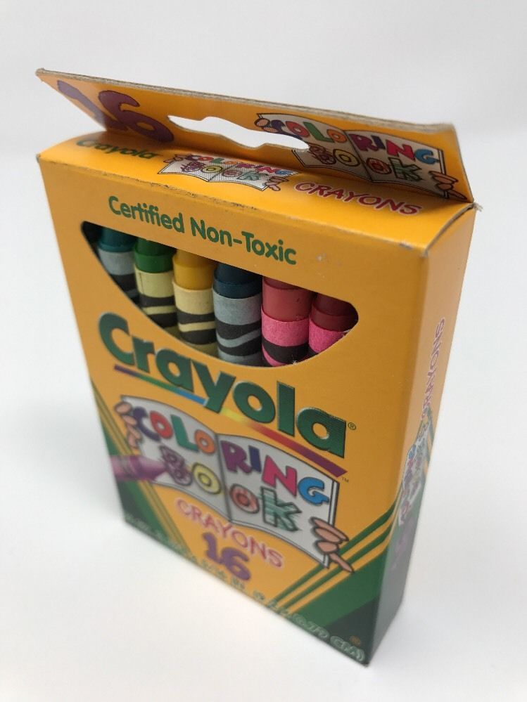 Coloring Book Crayons 16 Count Crayola Certified Assorted Colors ...