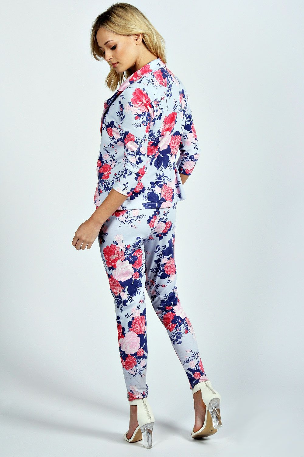 61206fc843bb Lola Floral Blazer And Trouser Co-Ord Set | wedding clothes in 2019 ...