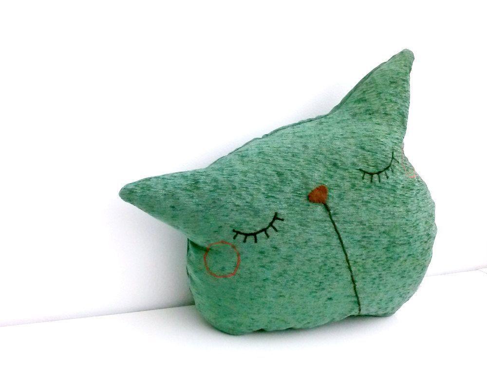Unfilled Cat Pillow, Sleepy Kitty Pillow, Decorative Pillow, Green Cat Pillow, Throw Pillow, Sofa Pillow, Cat Lover Pillow - Sleepy Kitty :  Unfilled Cat Pillow, Sleepy Kitty Pillow, Decorative Pillow, Green Cat Pillow, Throw Pillow, Sofa Pillow, Cat Lover Pillow – Sleepy Kitty by dancingintherains on Etsy  #Cat #Decorative #Green #Kitty #lover #Pillow #Sleepy #sofa #throw #Unfilled #sleepykitty Unfilled Cat Pillow, Sleepy Kitty Pillow, Decorative Pillow, Green Cat Pillow, Throw Pillow, Sofa P #sleepykitty