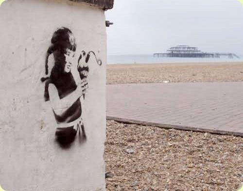 Amazing Graffiti Art by Banksy