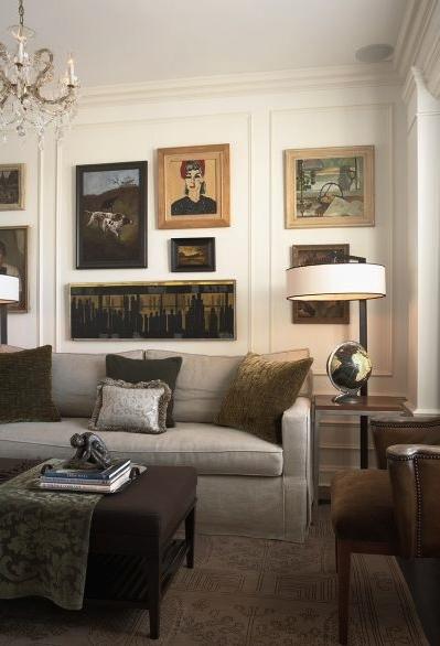 Elegant Pre War Apartment By Andrew Flesher Interiors Study