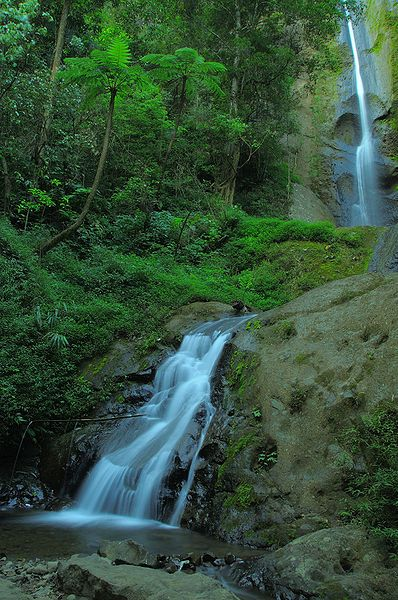 Dolo waterfall, Mojo, Kediri, Java, Indonesia