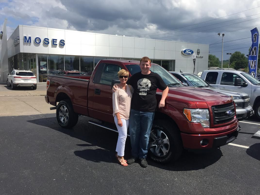 Congratulations, Corey Coen, on your new F150 STX Ford