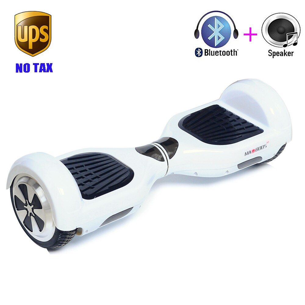 """Classic 6.5/"""" Electric Self Balance Hover board Scooter  Bluetooth Black"""