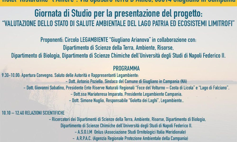 Giornata Internazionale Delle Aree Umide Convegno Al Lago Patria Nel 2020 Scienza Della Terra Lago Scienza