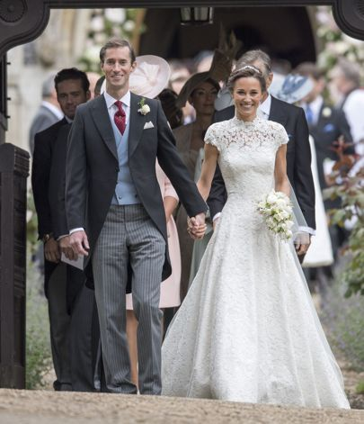 pippa middleton weds in giles deacon | lady diana and the royals
