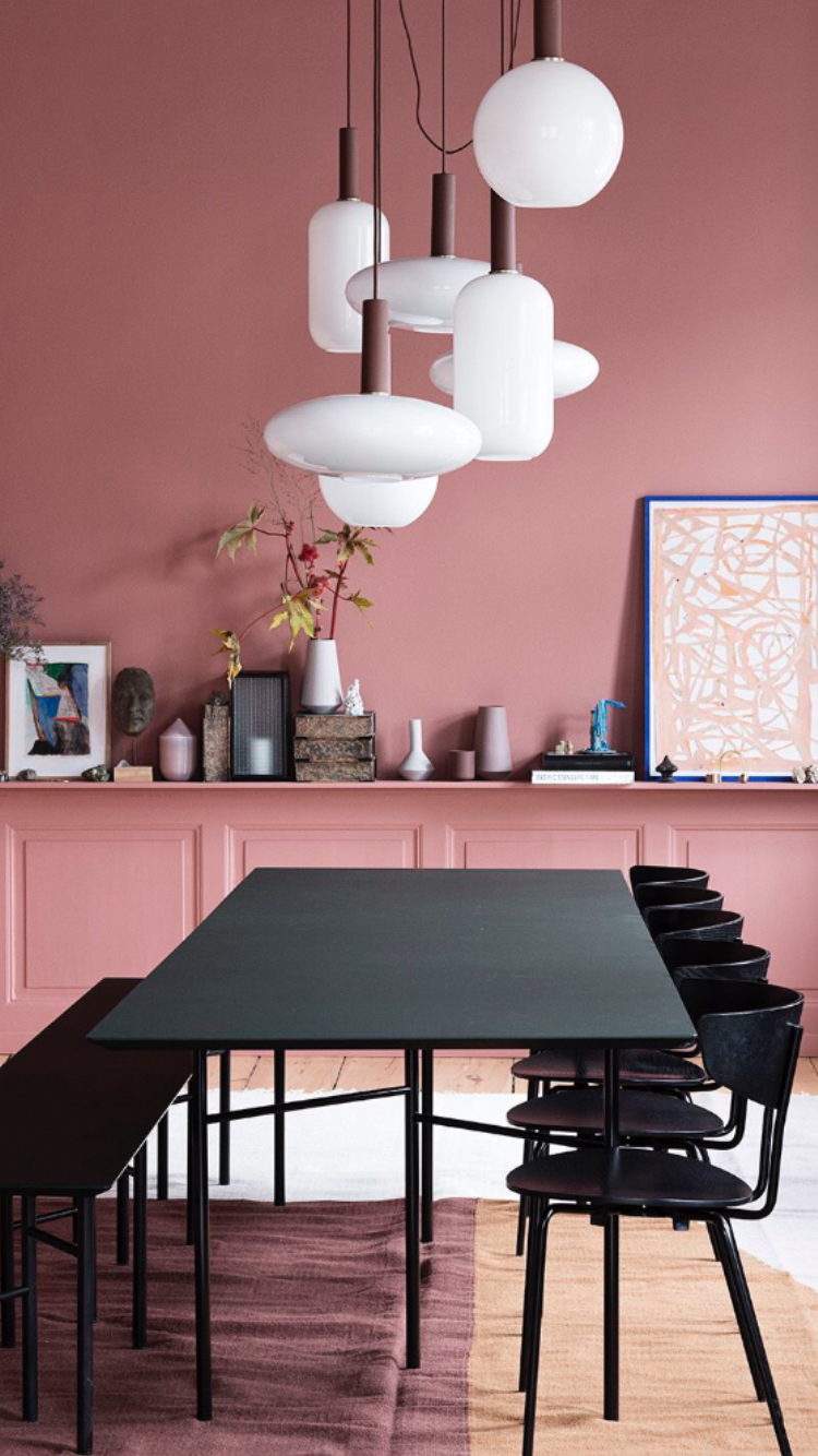 Frosted Glass Pendant Lamps | Dining room lighting, Dining ...