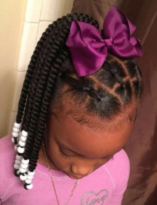Best 14 African American Toddler Ponytail Hairstyles #girlhairstyles