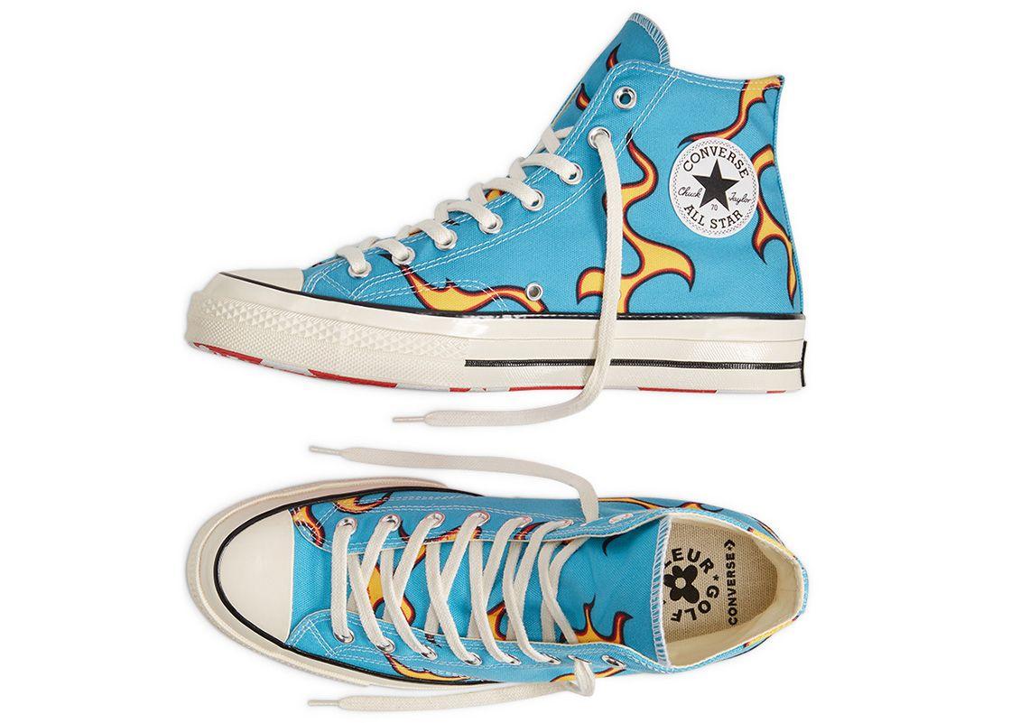 Golf Le Fleur Converse Chuck 70 Flame 167279c Release Date Sneakernews Com Converse Sneakers Fashion Nike Air Shoes