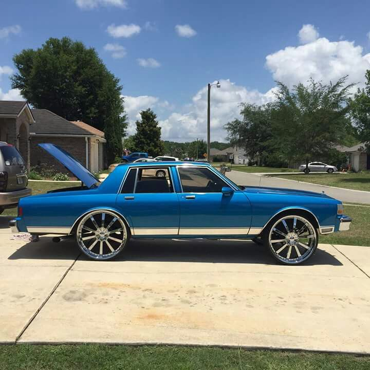 blue 86 caprice donk cars classic cars chevy custom cars paint blue 86 caprice donk cars classic