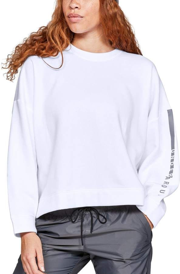 8783469a94 Women's Under Armour Rival Fleece Cropped Sweatshirt in 2019 ...