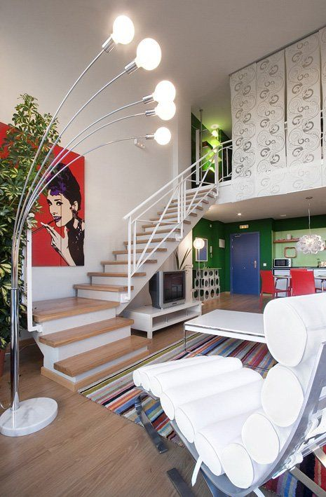 Using Curtains For Loft Privacy Living Room Loft Loft Room