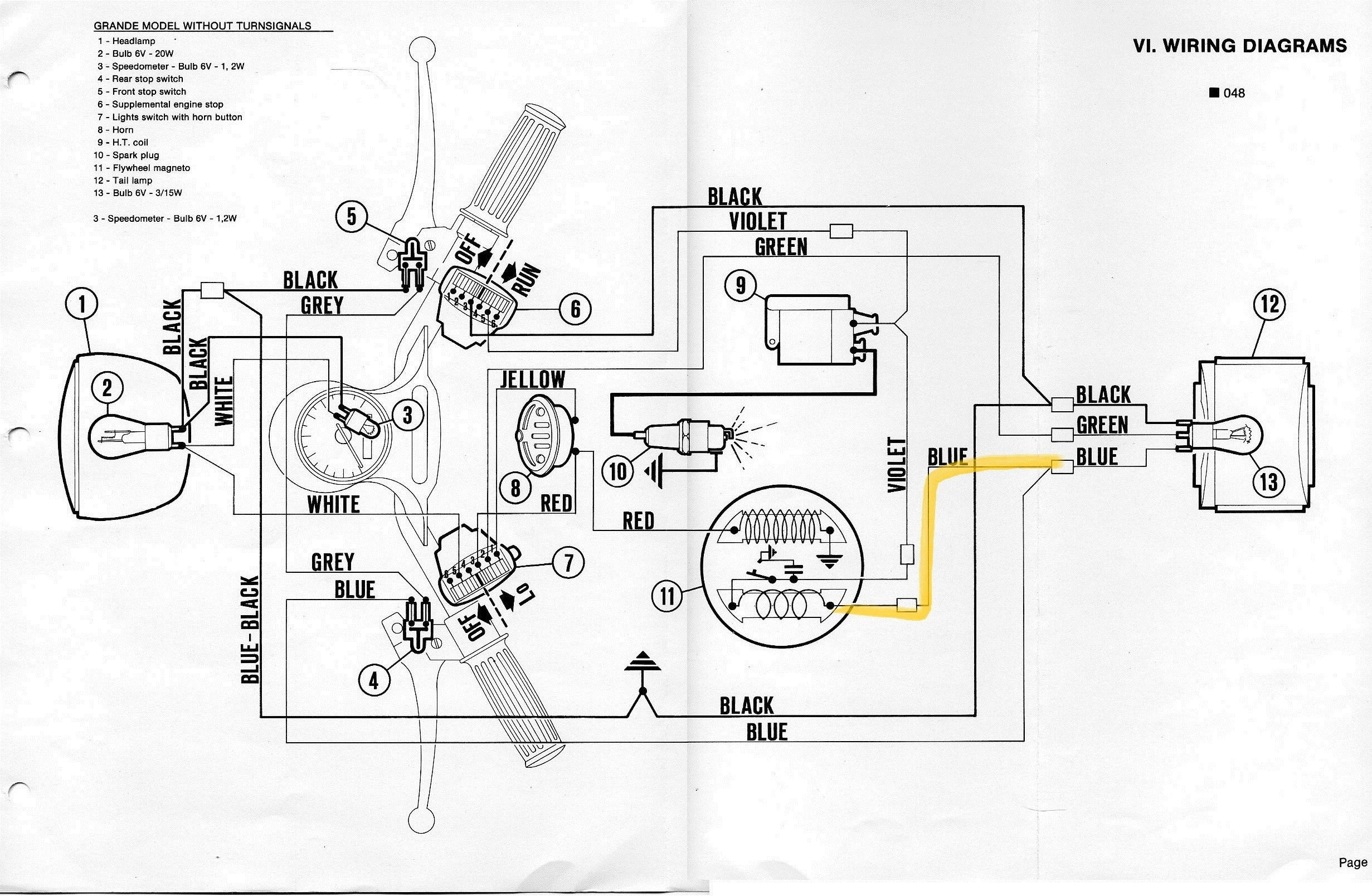 Wiring Diagram Vespa