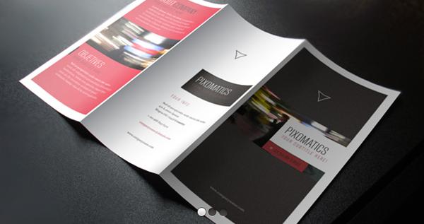 Corporate Tri Fold Brochure Template Brochure Templates Pixeden - Google templates brochure