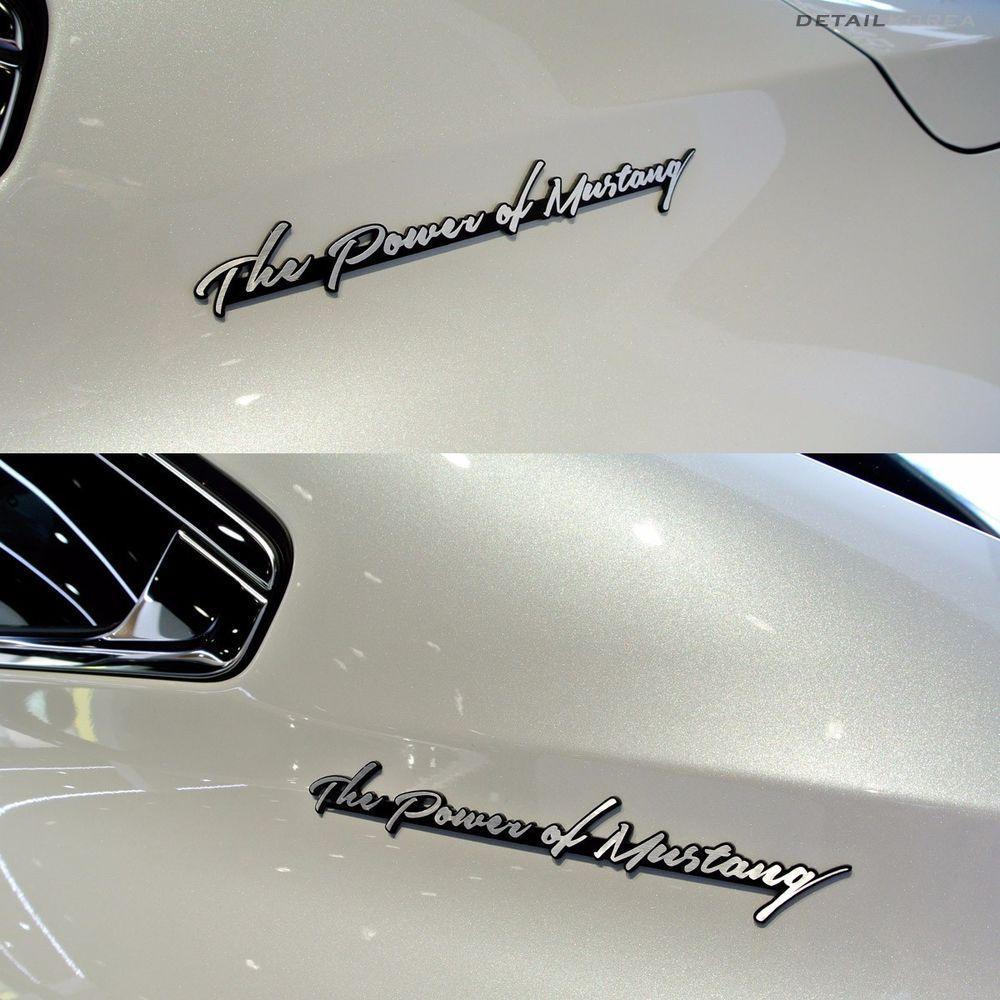 Detailkorea Car Lettering Slogans Handwriting Emblem C-Type for Ford Mustang #Detailkorea #Detailkorea #Car_Emblem #Emblem #Lettering_Emblem #Ford #Mustang