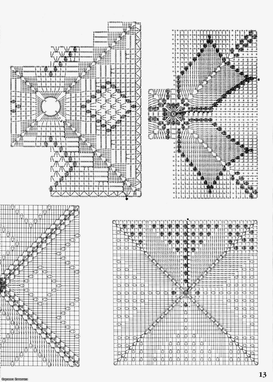 Crochet: VERY BEAUTIFUL PATTERNS FOR CURTAINS | Cojines | Pinterest ...