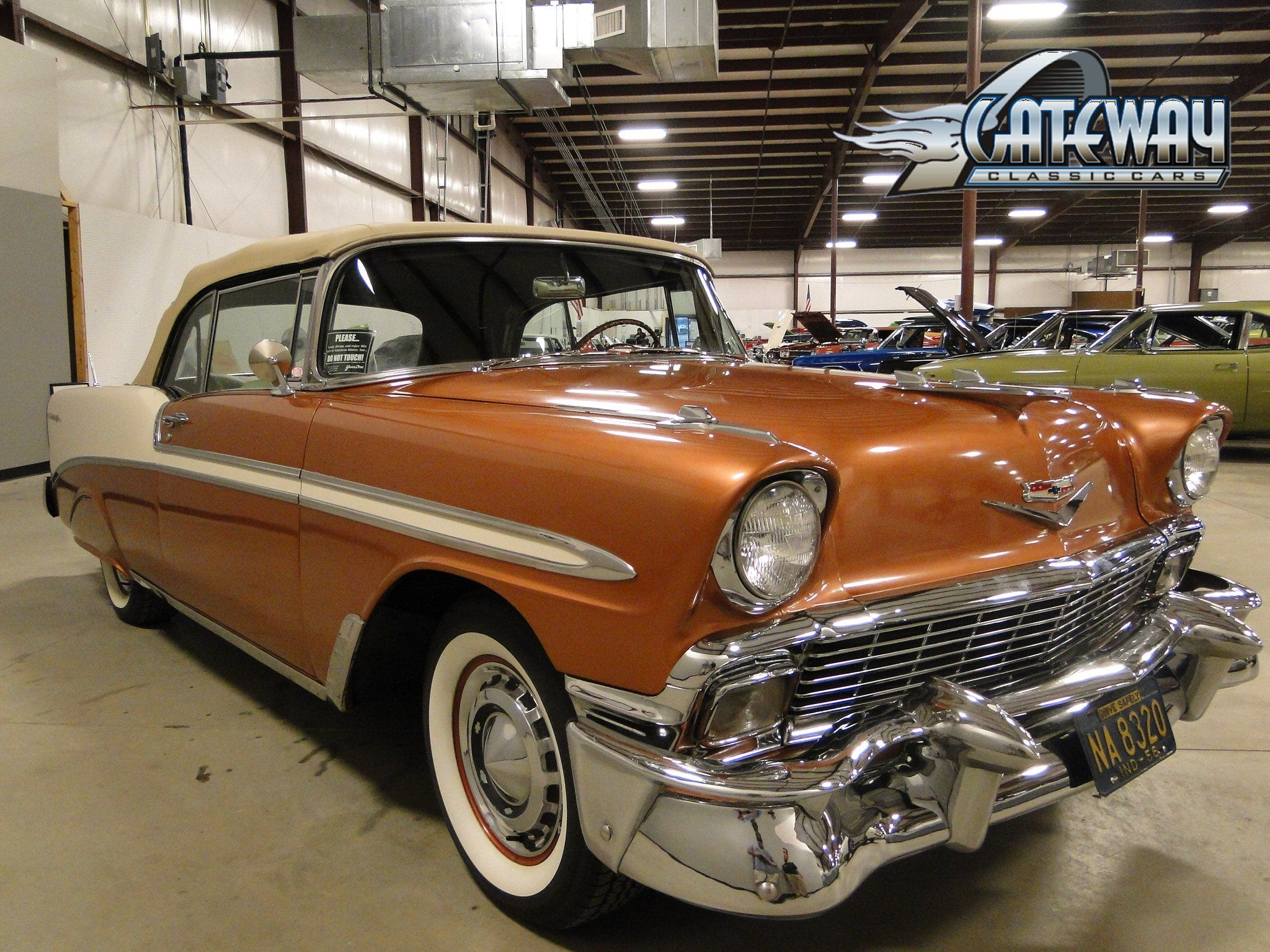 1956 Chevrolet Bel Air Convertible (avec images)
