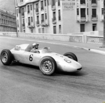 Hans Herrmann Monaco 1961 By F1 History Formule 1 Grand Prix Porsche