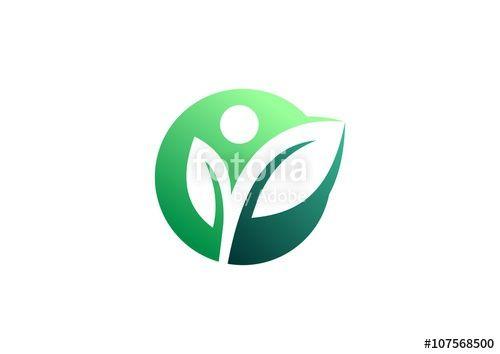 leaf leaves healthy organic natural logo pinterest rh pinterest com health logistics catalog health logos