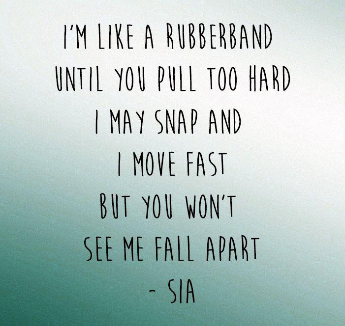 Sia Elastic Heart Song Lyrics Sia Lyrics Favorite Lyrics