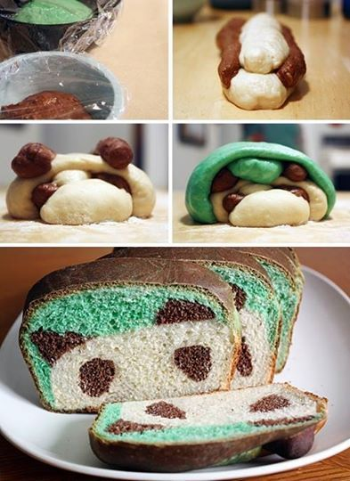 Foto: Try This Amazing Panda Bread for Breakfast - More Pics here: http://www.stylishboard.com/try-this-amazing-panda-bread-for-breakfast