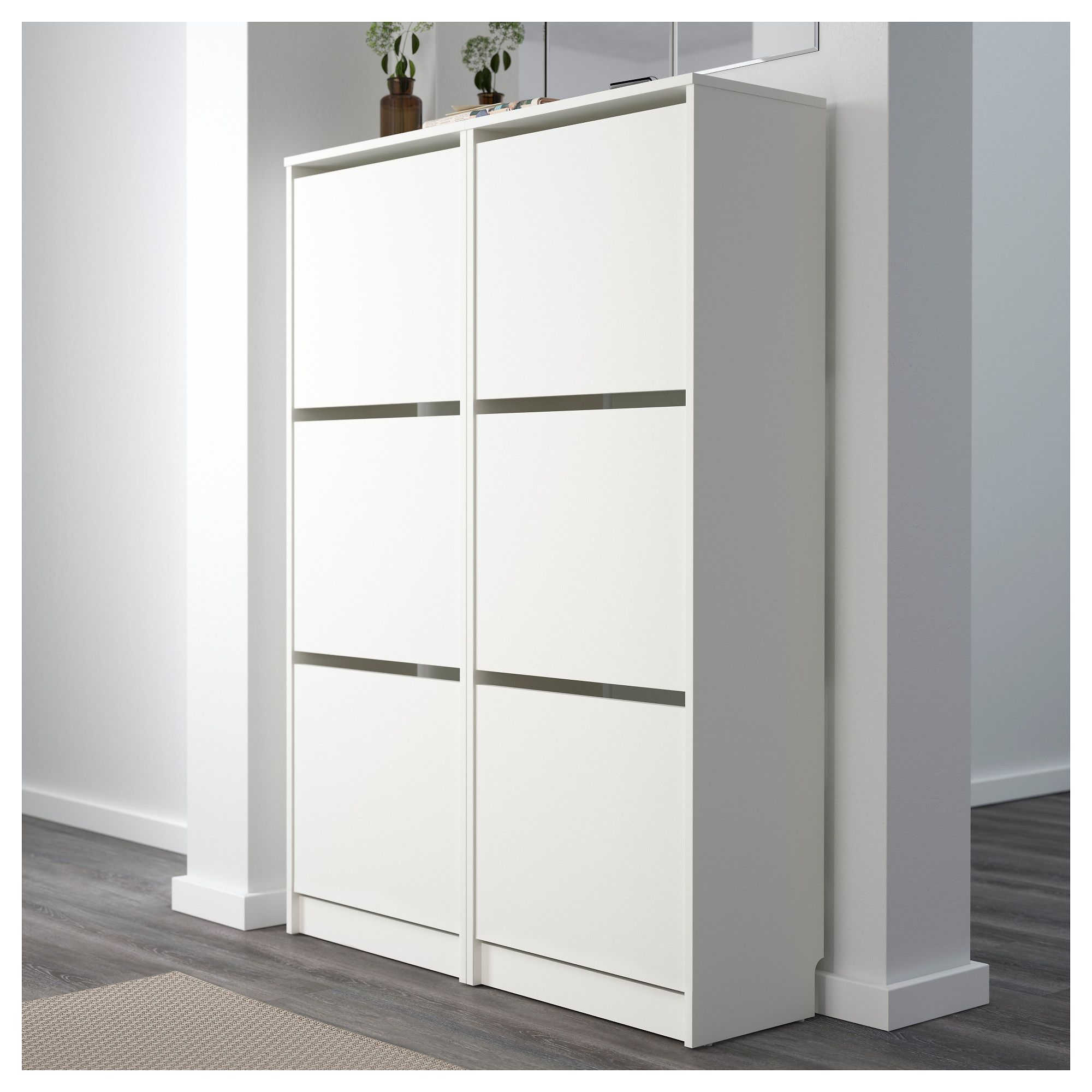 bissa shoe cabinet with 3 compartments white 49 x 135 cm in 2018
