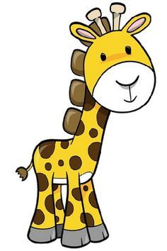 cartoon giraffe clipart giraffe elephant clip art pinterest rh pinterest com cartoon giraffe clipart cartoon giraffe clipart free