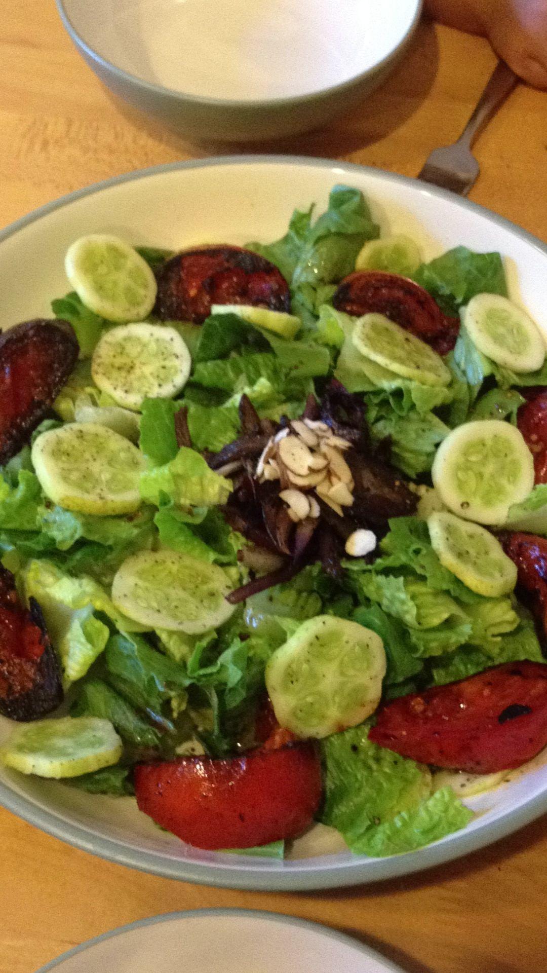 fried tomato salad