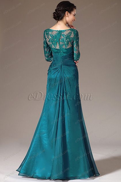 Half Top Sleeves Green Bride Lace Mother Of The Dress26141305En odCxBe