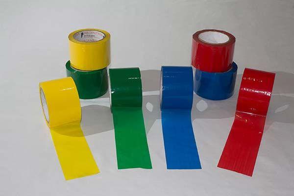 Las Cintas Adhesivas De Colores Son Usadas Para Multiples