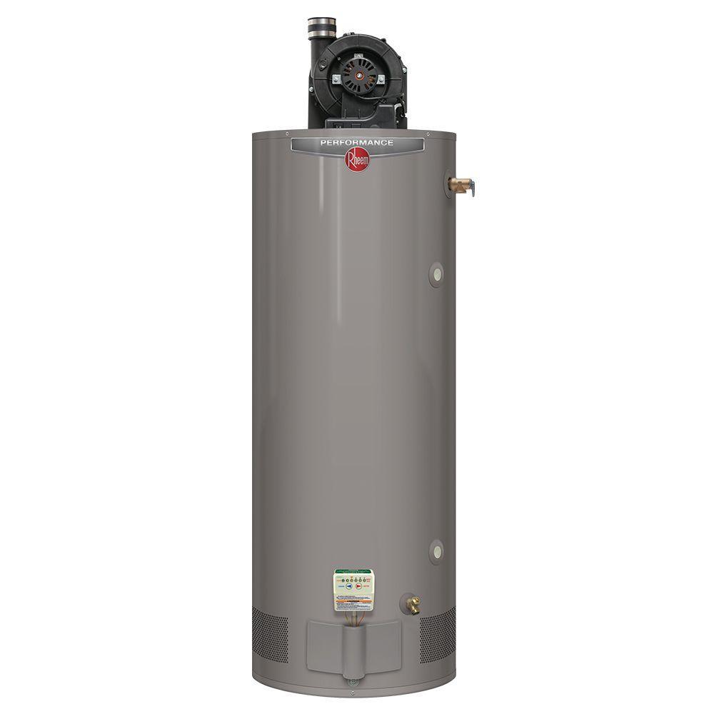 Rheem Performance 75 Gal Tall 6 Year 76 000 Btu Natural Gas Power Vent Tank Water Heater Xg75t06pv76u0 Water Heater Natural Gas Water Heater Gas Water Heater