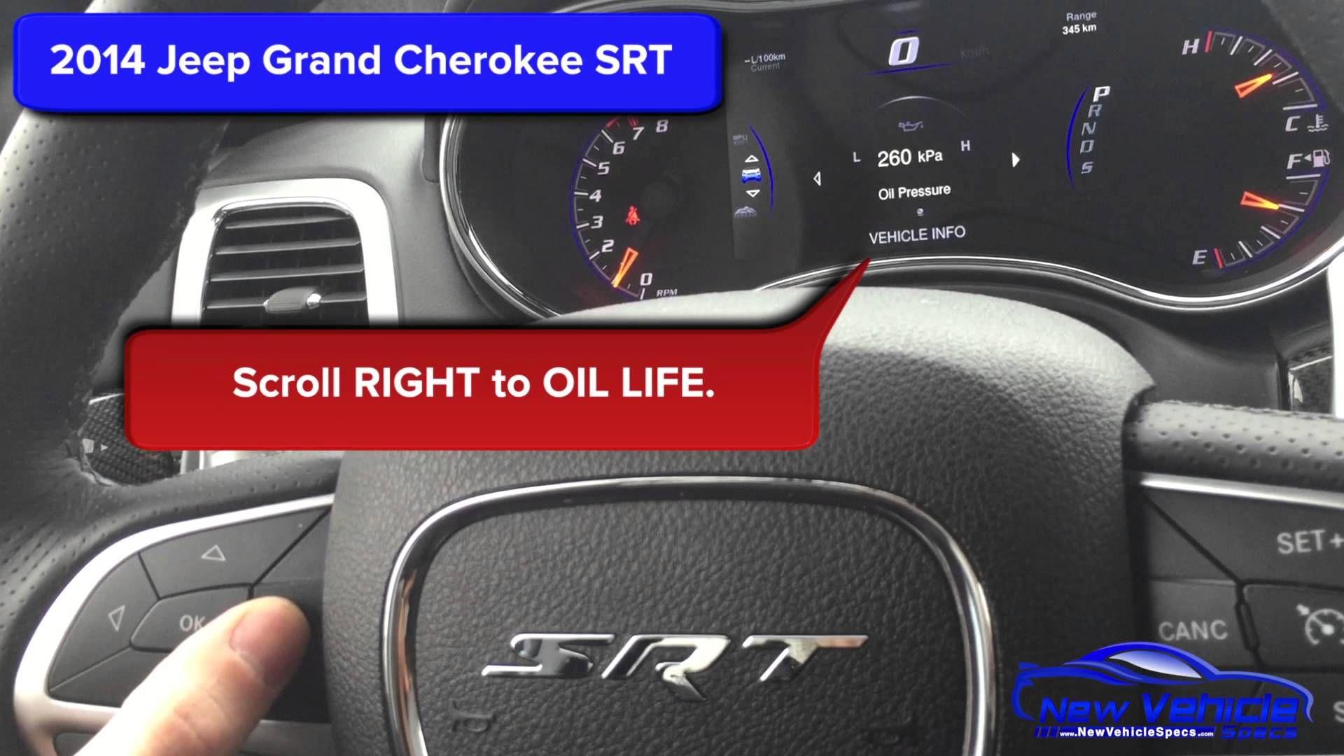 Best 2014 Jeep Grand Cherokee Oil Reset Dengan Gambar